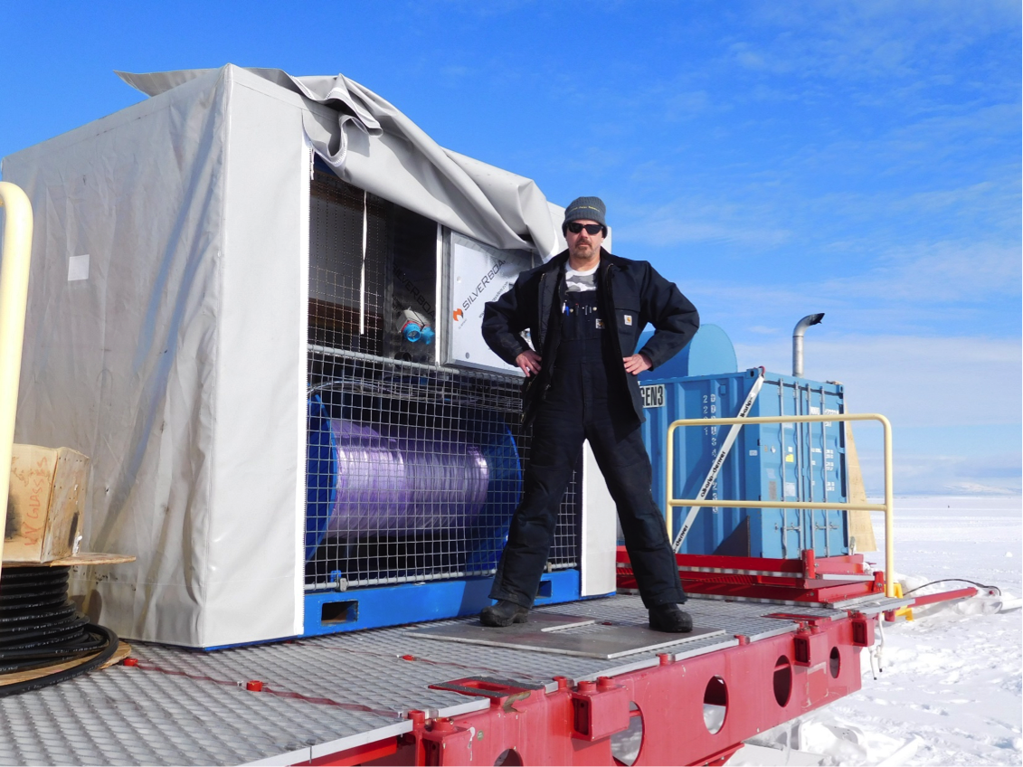Moving Forward: Successful SCINI Sea-Ice Test and Drillers Complete Equipment Loading for Traverse