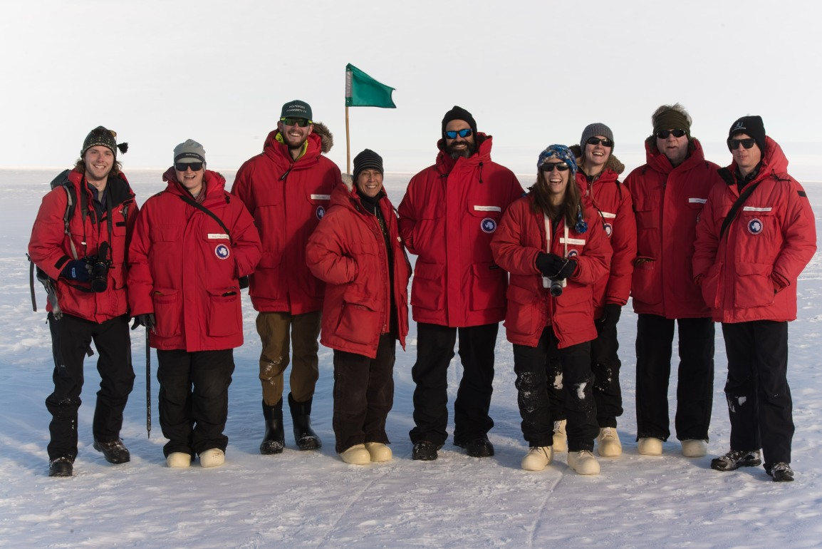 SALSA Science Team Arrives at Mercer Subglacial Lake and Geophysics Team Continues Work