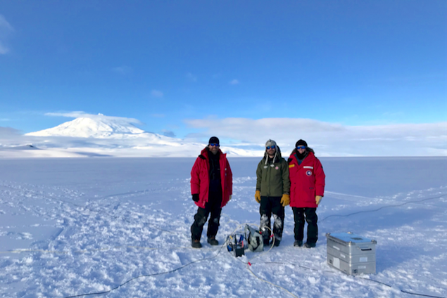 Geophysics Team Concludes Successful GPS Operations at Mercer SubglacialLake